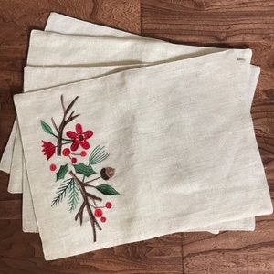 Other - Set of 4 Holiday Placemats
